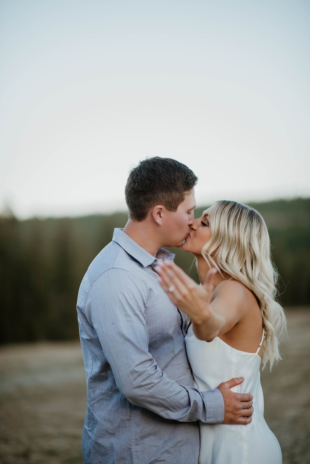 Lake Como engagement session photographed by Montana wedding photographer and videographer, Infinite Photography and Film Missoula.