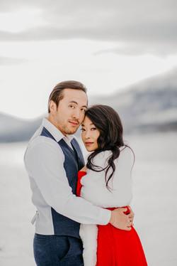 Glacier Montana Engagement