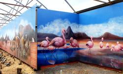 Flamingos & Lama Land