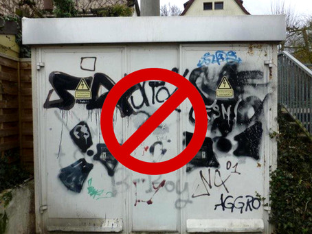 How Murals help prevent tagging