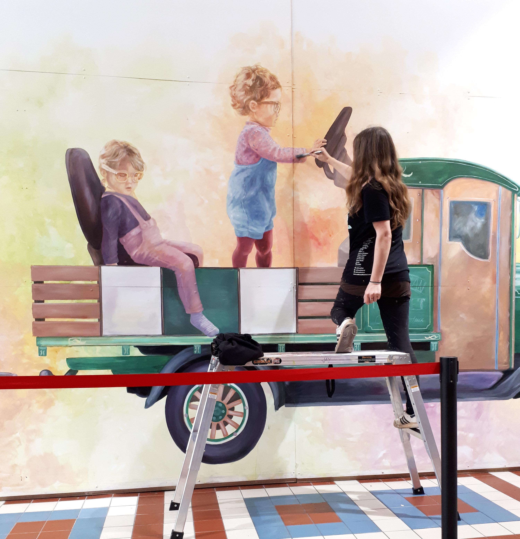 Prahran Markekt Train
