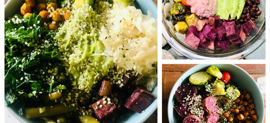 Healthy Whole Grain Veggie Bowl