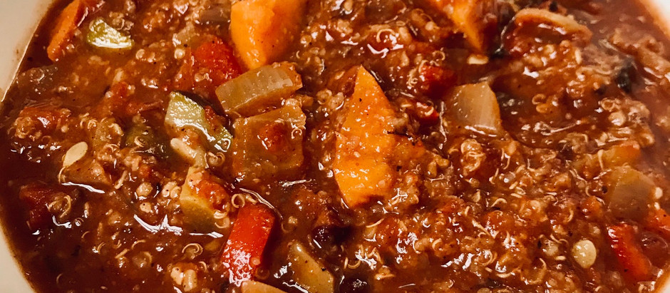 Lyndsay's Crockpot Quinoa Chili
