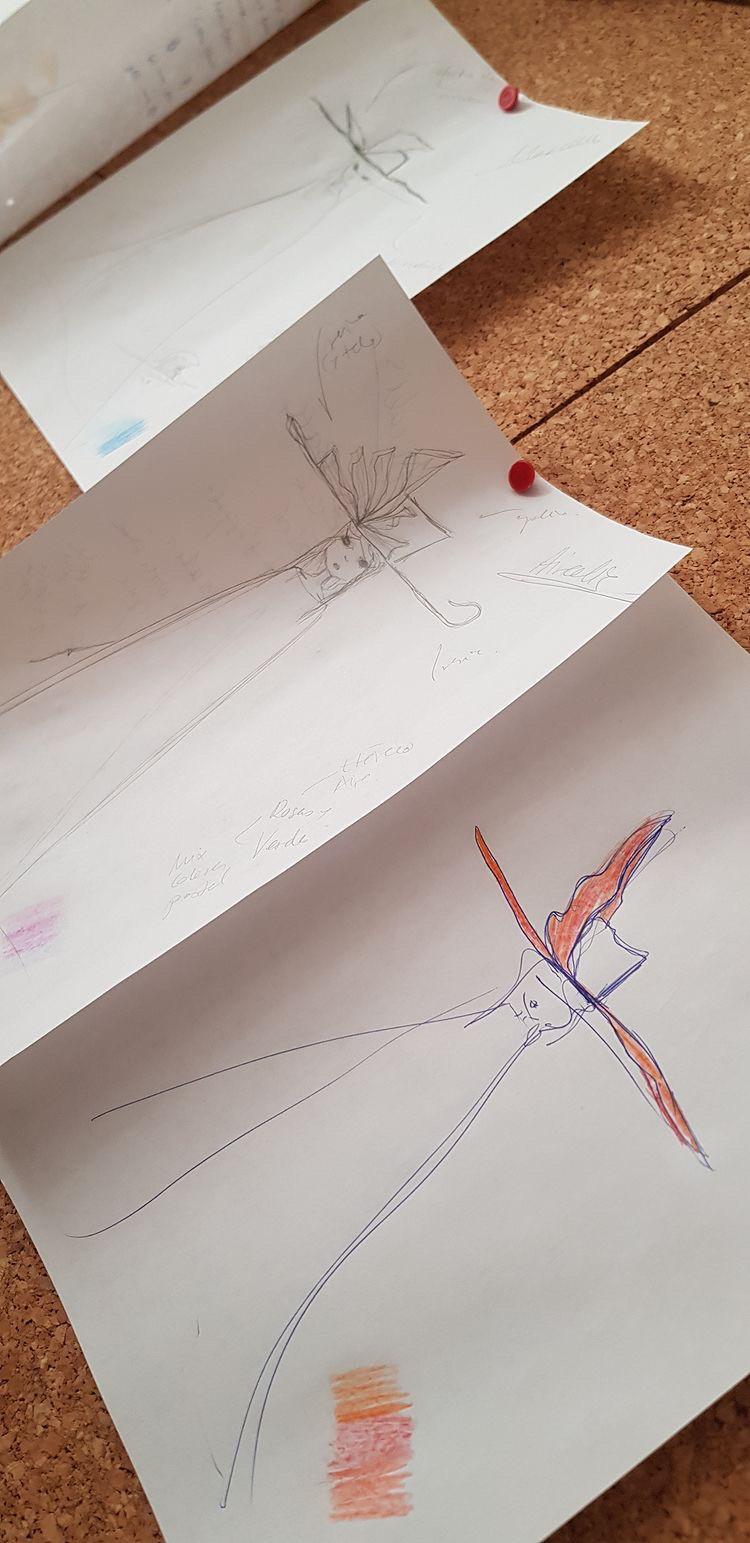 Dynameis - Bocetos por Macarena GO