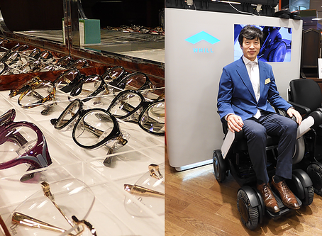 【Futurus帶你遊世界:日本安老系列】 眼鏡店中的輪椅代步車