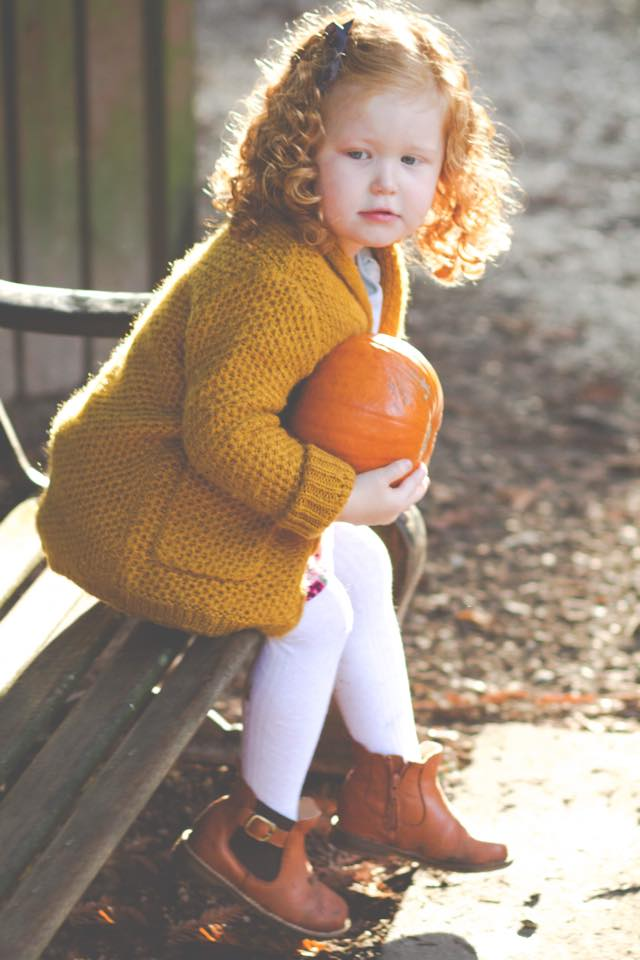 Pumpkin Child Photography