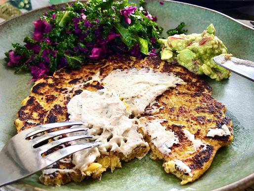 CACHAPAS (Savoury Corn Pancakes)