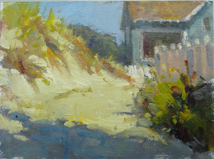 beach bungalow    8x10