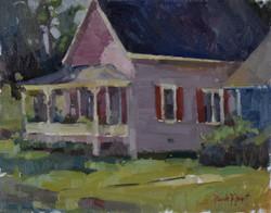 Lavendar Cottage  11x14