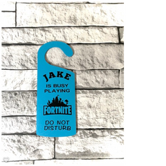 Personalised Door Hanger £10
