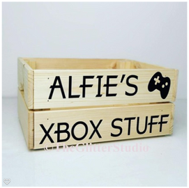 wooden crate £20