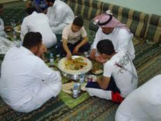 Os Árabes à mesa