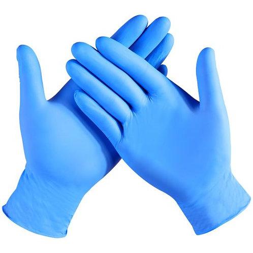 Powder Free Blue Vinyl Gloves- 100 or 1000/ct.