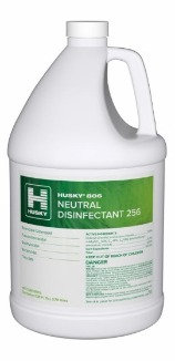 Husky 806 Neutral Disinfectant 256 Gal.- Single or Case