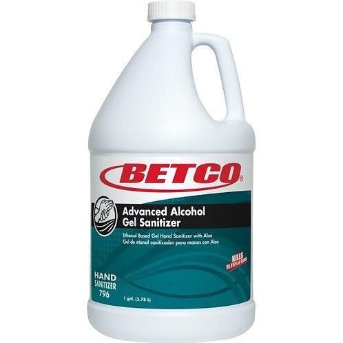 Betco® Advanced Alcohol Gel Sanitizer- Single Gal. or Case