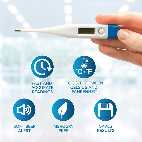 Digital Thermometer, For Oral Use