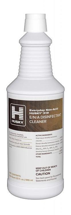 Husky® 319 Non-Acid Disinfectant Restroom Cleaner 32 oz.- Single or Case