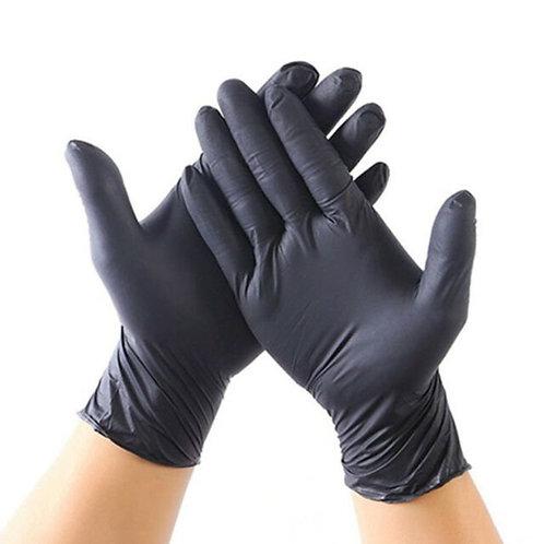 Powder Free Black Nitrile Gloves- 100 or 250/ct.