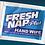 Thumbnail: Kari-Out Fresh Nap Plus Sanitizing Wipes W/ Alcohol 1000/ct.