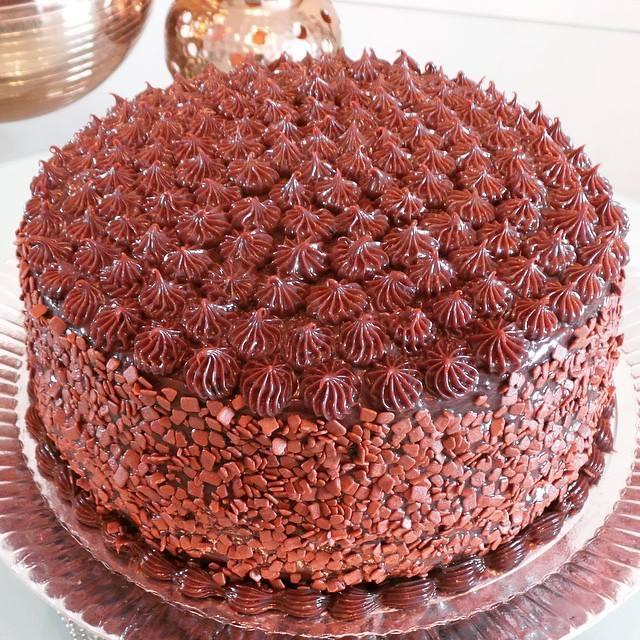 Bolo de Chocolate (com choc belga)