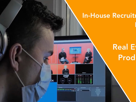 In-House Recruitment Expo goes hybrid with live streaming from event.video