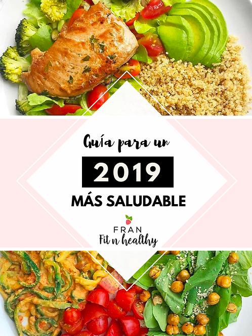 Guia para un 2019 mas Saludable