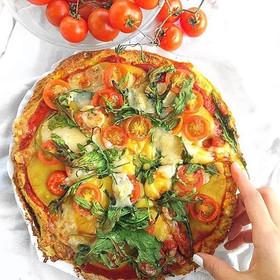 Pizza de Zucchini
