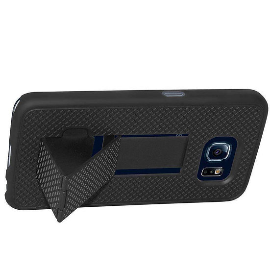 AMZER Snap On Hard Shell Case with Kickstand for Samsung Galaxy S6 -