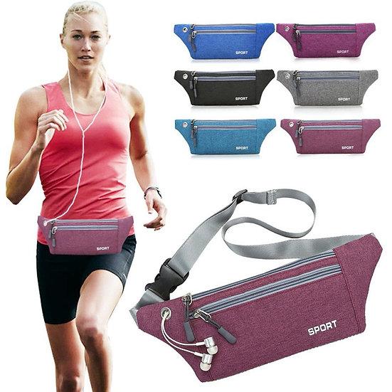Women Men Chest Pack  Multi-function Pockets Outdoor Sport Leisure
