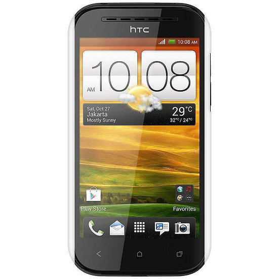 AMZER Snap On Case for HTC One SV - White
