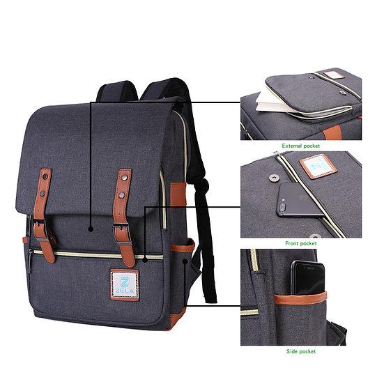 Classy Laptop Backpack Men & Women Unisex Back pack | Slim Fits 15-inch Laptop |