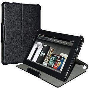 AMZER Shell Portfolio Case Leather Texture for Amazon Kindle Fire -