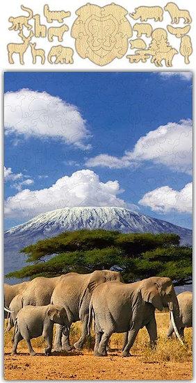 Mount Kilimanjaro Jigsaw Puzzle #6760