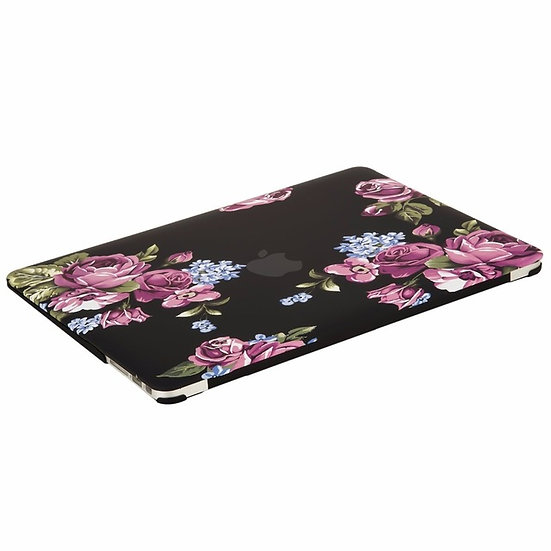 Floral Shell Hard Case for Macbook Air 13