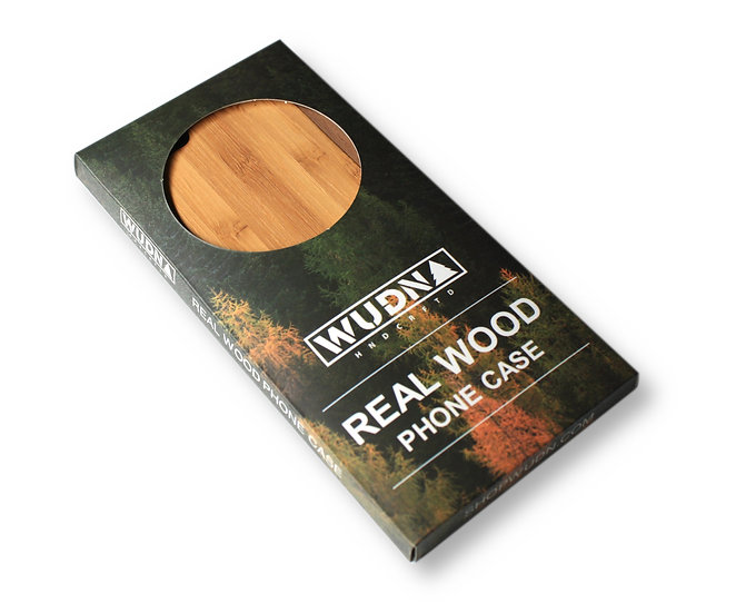 Wooden Phone Case for iPhones and Samsung