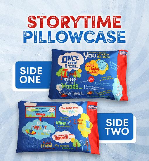 Playtime Story-Telling Pillowcase, Blue
