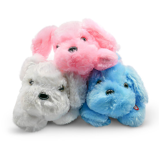 Plush Pillow with Lights, Dog Stuffed Animal Toy, Glow and Cozy Gift