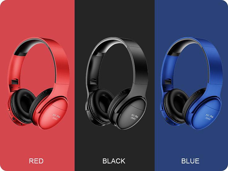 Noise Canceling Stereo Foldable Bluetooth V5.0 Wireless Headphones