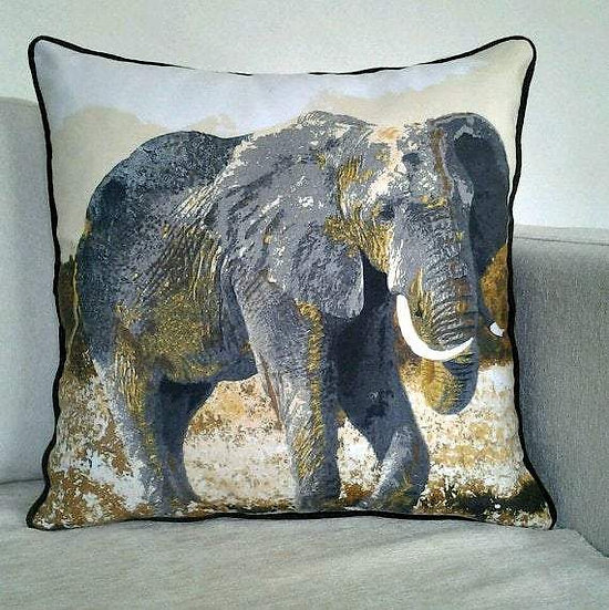 Decorative Throw  Cushion pillow Cover - African Art