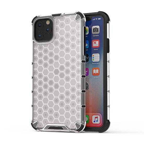 AMZER Honeycomb SlimGrip Hybrid Bumper Case for iPhone 11 Pro Max