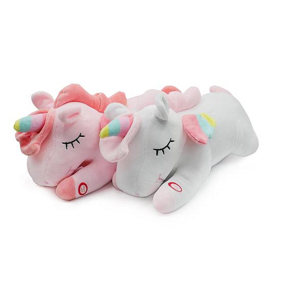 Stuffed Animal, Unicorn Stuffed Animal with Lights – Unicorn Plush Pillow, Glow