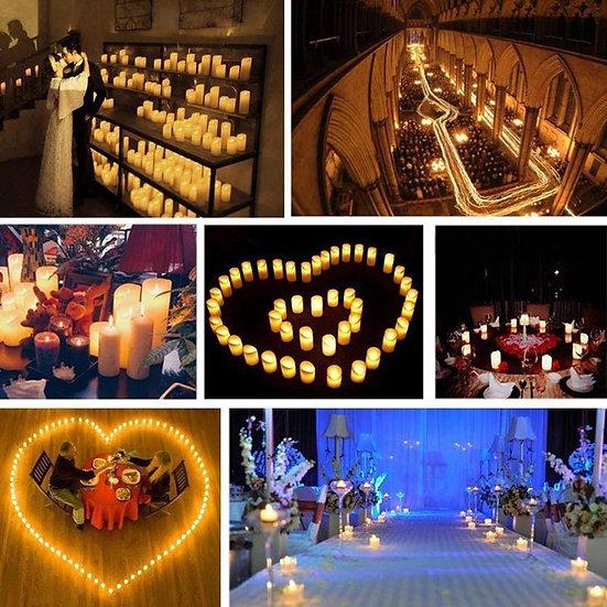 24pcs Candle Led Creative LED Candles Led Lights