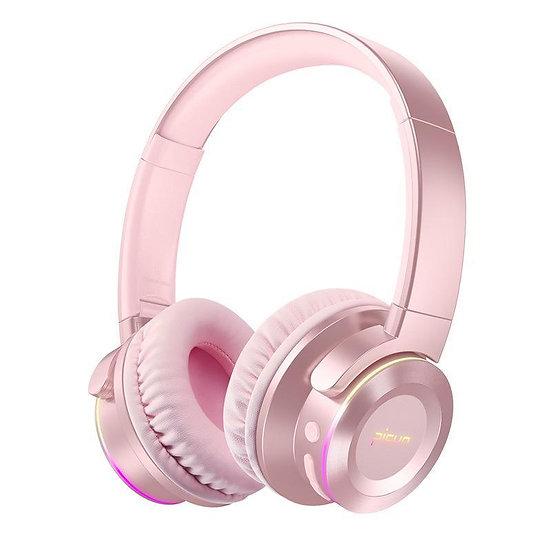 Head-mounted Luminous Bluetooth Headphone