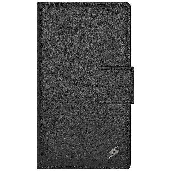 AMZER Flip Leather Case for Xiaomi Mi 3 - Black
