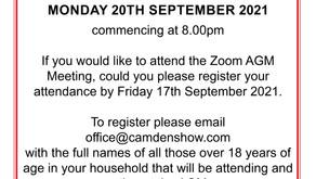 Camden Show AGM