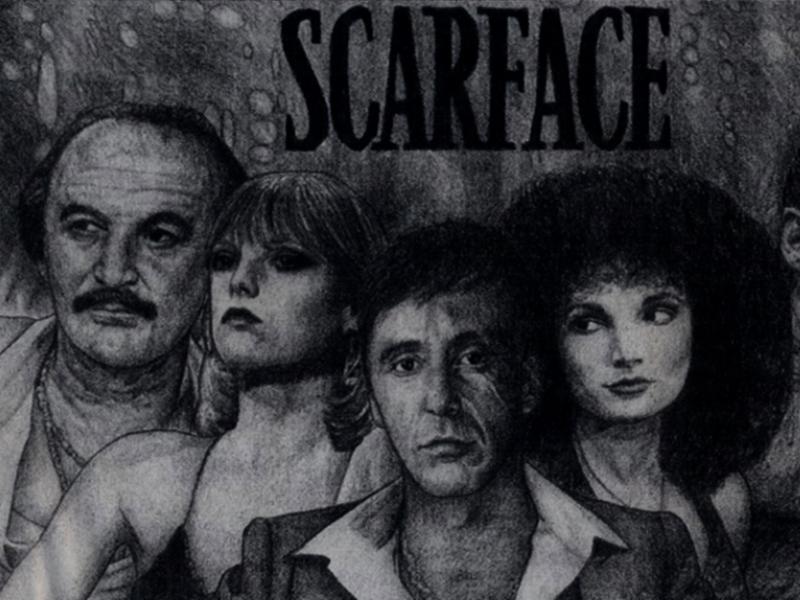 Scarface sketch