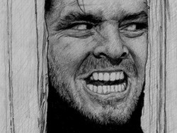 "Jack Nicholson ""The Shining"" sketch"