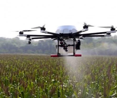 Fumigación y Fertilización de los Cultivos con Dron