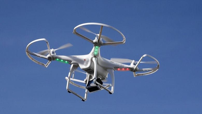 Patrullaje con dron en Guatemal
