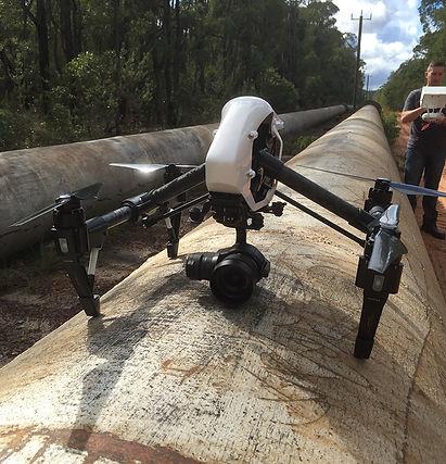 Inspección de tuberías de gas y petroleo con Dron en Guatemala